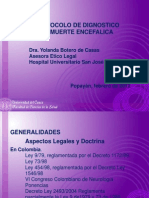 Protocolo de Diagnostico Muerte Encefalica