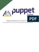 PuppetEnterprise UserGuide 3.0