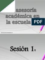 La Asesoría Académica en La Escuela III