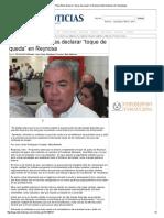 """30-04-2014 'Descarta Pepe Elías Declarar """"Toque de Queda"""" en Reynosa'"""