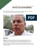 30-04-2014 'Reynosa Volverá a La Normalidad_ Elías Leal'