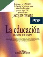 Delors La Educacion Encierra Un Tesoro