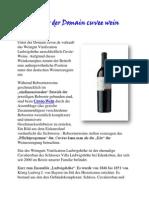 Unter Der Domain Cuvee Wein
