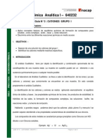 Guía N°3 de Laboratorio de Química Analítica I