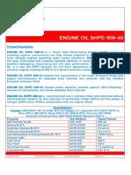 4251 Engine Oil Shpd 15w-40