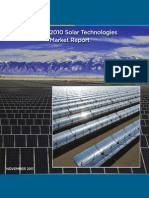 2010 Solar Technologies Market Report DOE