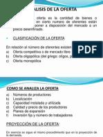 Analisis de La Oferta FyEP UAP
