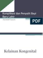 Komplikasi Dan Penyulit BBL II