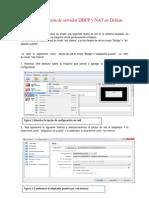 Instalación y Configuración de Servidor DHCP Con NAT en DEBIAN