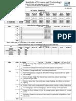 Rivision Schedule 2014