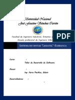Monografía de Taller de Desarrollo de Software