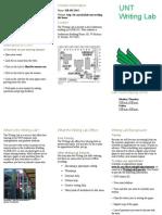 unt writing lab brochurezb2