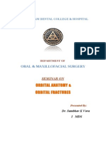 Orbital Anatomy and Orbital Frcture / orthodontic courses by Indian dental academy