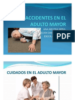 Accidentes en El Adulto Mayor-Ana Milena