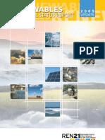 Renewables, Global Status Report 2009