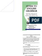 Guide to English Grammar