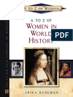 A to z of Women. a to z of Women in World History