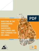'Investing in the Demographic Dividend
