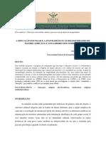 14 OLIVEIRA. a Educação Escolar e a (in)Tolerância