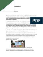 Bogotá y Las Cronotopías Del Presente
