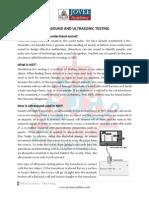 Ultrasonic Testing Jovee Academy