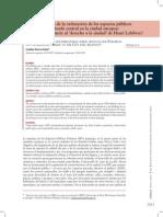 Implicaciones Espacios Publicos Ciudad y Lefebvre