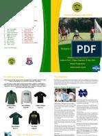 VUWAFC Programme 10 May 2014