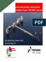 10Synchronised Hydraulic Jacking on Lima Project-Oto Gurnita-Pertamina Hulu