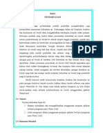 Laporan Tugas Program Watercad Daerah Sukun - Malang