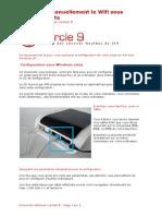 Configuration Manuelle Wifi Sans CD Sous Windows Vista Et Neuf Box 4