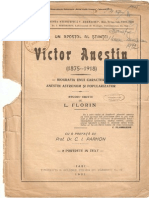 Un Apostol Al Stiintei-Victor Anestin-1921