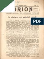 Orion An3nr08 Aprilie 1910