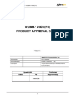 WUBR 170GN P4 Approval Sheet 1.1