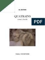 Al Zeituni - Quatrains