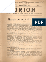 Orion An3nr06 Februarie 1910