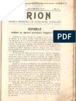 Orion An3nr04 Decembrie 1909