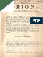 Orion An2nr07 Decembrie 1908