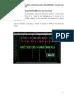 Métodos Numéricos en Matlab