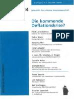 Altvater Inflationäre Deflation Prokla134