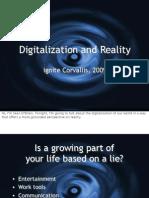 Digitalization and Reality