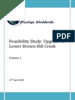 feasibility study - volume 1
