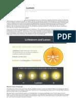 Lightingever.de-lichtstrom Und Lumen