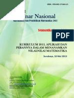 Cover Prosiding 2013