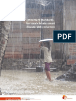 Minimum Standards for Climate Smart DRR