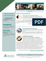Bulletin d'Annonce n109 - 10 Au 17 Mai 2014