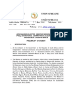 African UnionAfrican Union Election Observer Mission to the 7th May 2014 National and Provincial Elections to the Republic of South Africa