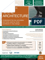 FLP2399 Cert in Naval Architecture