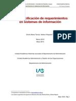 La Especificación de Requerimientos ... v 2.3