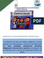 Control Social Ley 341 Diapositivas Oficiales