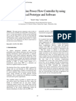 Study of Interline Power Flow Controller by Using Practical Prototype and Software